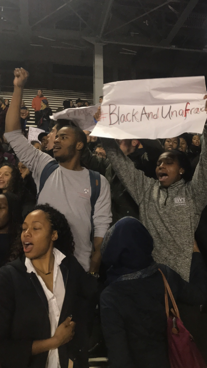 Penn Students Temporarily Block Entrance to Football Game in Response to Racist GroupMe