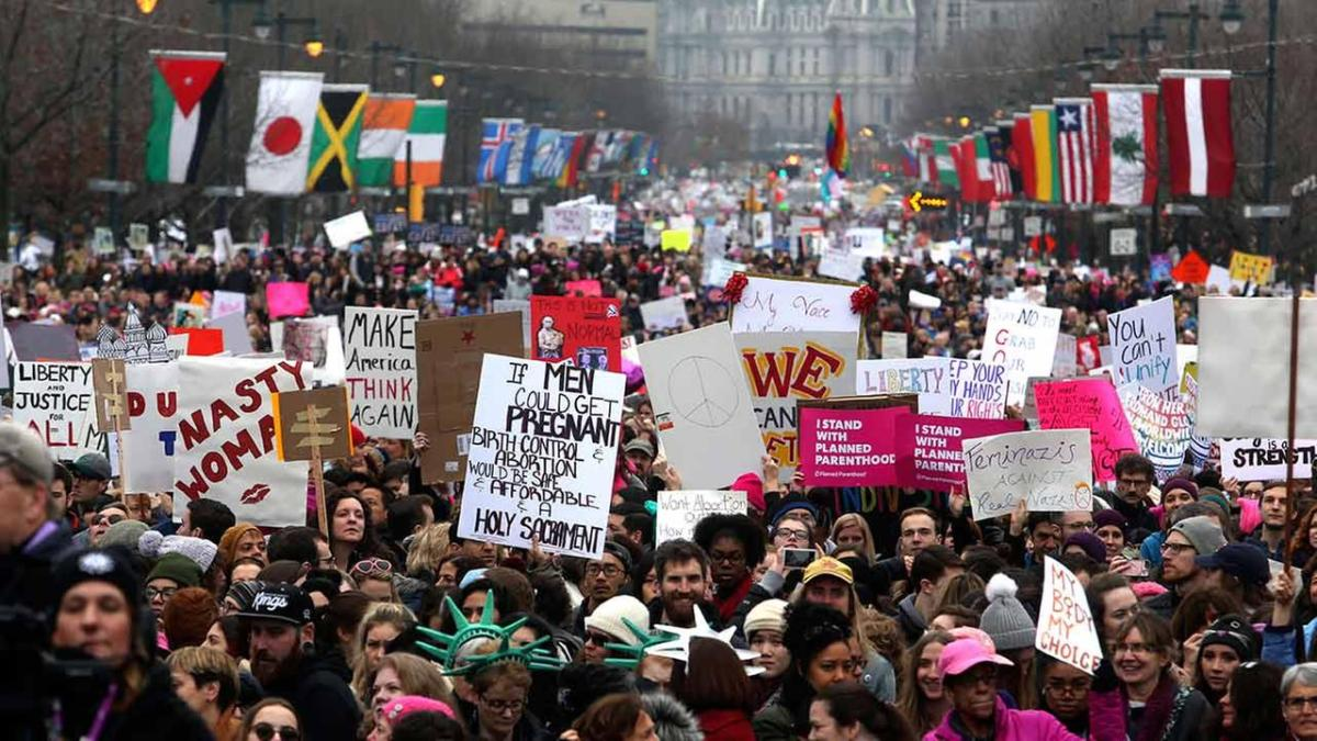 I, a Woman, Am Avoiding the Women's March.