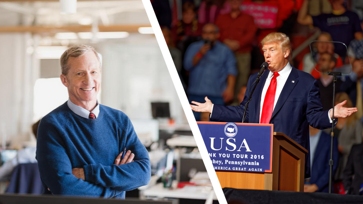 High Crimes and Vacuum Cleaners: Tom Steyer's Open-Ended View of Impeachment