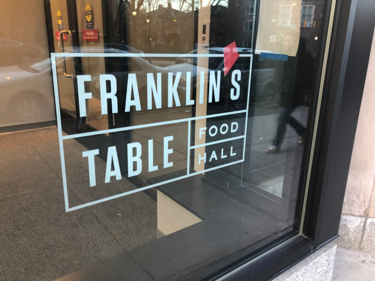 Franklin's Table Food Hall Opens